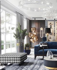 LUXE INTERIORS BY ~ We create premium interiors in the unique style of the We provide interior design and… Interior Design Living Room, Living Room Designs, Living Room Decor, Interior Decorating, Appartement Design, Design Salon, Luxury Living, Modern Living, Trends
