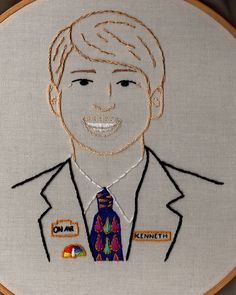 """""""I don't drink coffee, sir, I don't drink hot liquids of any kind. That's the devil's temperature."""" Jack Brayer as Kenneth Parcell from 30 Rock."""