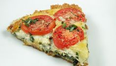 Tomato tart – a healthy treat from your freezer
