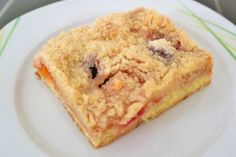 Zwetschken-Marillen Streuselkuchen - Rezept