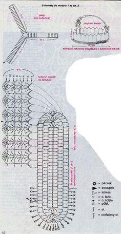 Handmade-kursy ,wzory ,tutoriale: Schematy na szydełkowe koszyczki