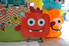 Monsters Birthday Party Ideas | Photo 10 of 32 | Catch My Party