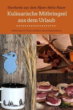 Ein Stückchen Urlaub für Zuhause: kulinarische Mitbringsel aus dem Alpen-Adria-Raum. Mit Inspirationen für Geschenke und tollen Tipps für Hotels. Jetzt am Blog zum Nachlesen.