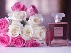 Coco Chanel Mademoiselle Perfume Wallpaper
