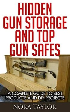 A Complete Guide to Hidden Gun Storage And Top Gun Safes Hidden Gun Safe, Hidden Gun Storage, Diy Storage, Storage Ideas, Floating Shelves Bedroom, Reclaimed Wood Floating Shelves, Floating Corner Shelves, Diy Projects To Build, Cute Diy Projects