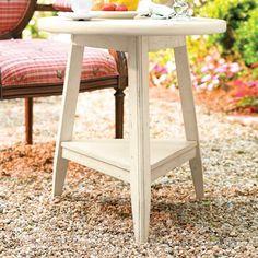 Paula Deen Home Round Lamp Table