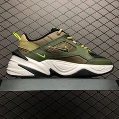 4af9248d63 Nike M2K Tekno Medium Olive Black-Yukon Brown AO3108-201 Trainers-4 Jordans