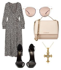 """""""Untitled #27"""" by amerie-c ❤ liked on Polyvore featuring Ganni, Fendi, Yves Saint Laurent, Givenchy and Allurez"""