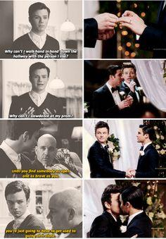 Kurt + Blaine