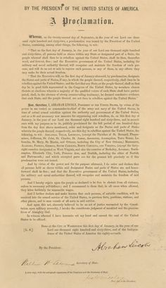 Emancipation Proclamation: History & Significance