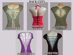 CUSTOM CUT SHIRT Tshirt on any of our tops - You choose