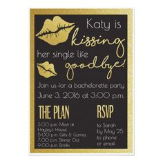 Bachelorette or Hens Party Invitation. Click through to find matching games, favors, thank you cards, inserts, decor, and more. Or shop our 1000+ designs for all of life's journeys. Weddings, birthdays, new babies, anniversaries, and more. Only at Aesthetic Journeys