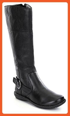 BORN WOMEN'S BENZEMA BLACK LEATHER BOOTS (6) - Boots for women (*Amazon Partner-Link)