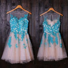 Charming Prom Dress,Tulle Homecoming Dresses,Beaded Graduation Dress,Short Prom