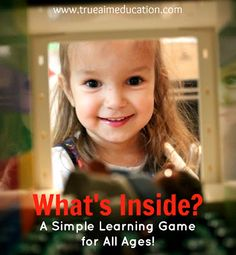 Learning Game for Kids: What's Inside?