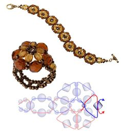 Free Pattern - Topaz Beaded Flower featured in Bead-Patterns.com recent Newsletter!