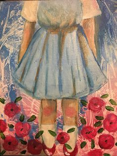 Alice in wonderland Dorothy wizard of oz poppies original