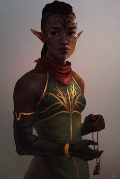 My made up race of elves