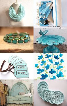 """At the Cottage by the Sea--Pinned with TreasuryPin.com Featuring my """"FUN"""" gift tags!"""