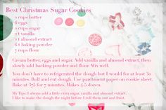 Christmas with My Babies + Sugar Cookie Recipe...