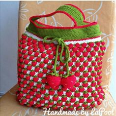 How to do the Strawberry stitch pattern (diagram & video tutorial)