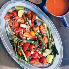 Grilled Tomato-and-Scallion Salad | Food & Wine