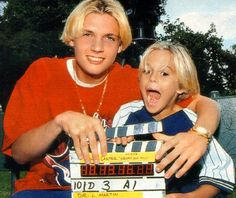 Nick and Aaron Carter Page, Blonde Moments, Baby Spice, Aaron Carter, Carter Family, Young Actors, Lucille Ball, Backstreet Boys, 90s Kids