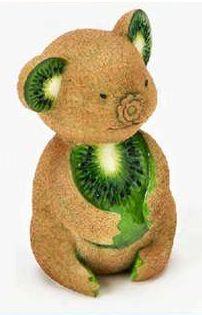 Kiwi Koala Food Art