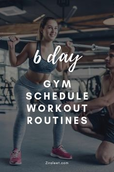 Looking for a daily guide or an ideal gym workout schedule? Get healthy lifestyle tips at Ziraleet. Read about a 6 Day Good Gym Schedule Workout Routine.