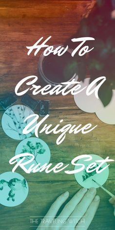 How To Create A Unique Rune Set // Witchcraft // Magic // The Traveling Witch Green Witchcraft, Wicca Witchcraft, Magick, Wicca Runes, Spells That Actually Work, Ancient Symbols, Mayan Symbols, Viking Symbols, Egyptian Symbols