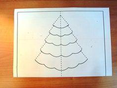Τρισδιάστατες χριστουγεννιάτικες κάρτες! Handmade Christmas, Christmas Crafts, Christmas Ideas, Pop Up, Quilling, Diy Crafts, Google, Bedspreads, Popup