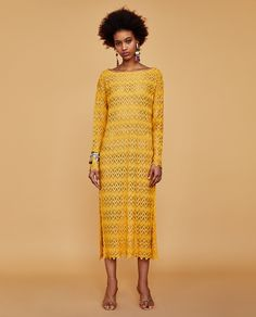 Image 1 of LACE TUNIC from Zara