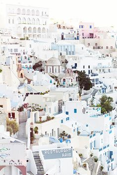 Santorini is the most beautiful Greek island filled with whitewashed walls, pink sunsets and crystal waters. Here's 7 reasons you need to visit Santorini. Fira Santorini, Santorini Travel, Greece Travel, Fira Greece, Travel Europe, Santorini Sunset, Greece Art, Santorini Island, Mykonos Greece