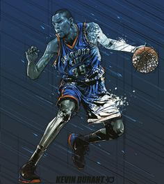 Kevin Durant 'Raining Color' Illustration