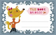 For Immediate Release Reviews - Kids: More free printable bookplates!