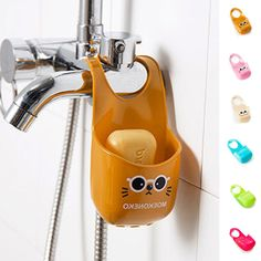 Kitchen Sponge Holder Dish Cloth Washing Sink Spong Tub Soap Holder Hanging