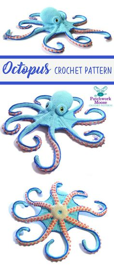 This amigurumi octopus is so cute! I love the suction cup details on his tentacles. The pattern is easy to follow even if you're a pretty new to crochet like I am. I made this for my neice and she totally loved it! This is my new go-to pattern for a unique handmade birthday present! #affiliate