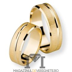 Verighete aur galben de 7.5mm mdv1121 #verighete #verighete7mm #verigheteaur #verigheteaurgalben #magazinuldeverighete Wedding Rings Sets His And Hers, Wedding Engagement, Engagement Rings, Luxury Watches For Men, Opal Rings, Gold Jewelry, Jewellery, Fashion Jewelry, Bangles