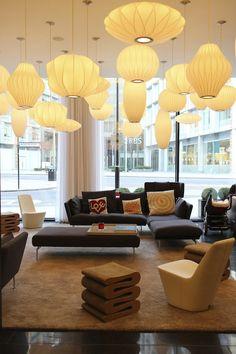 """Urban livingroom"" in CitizenM London Bankside"