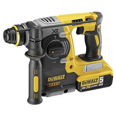 Shop DEWALT 18 V XR Brushless 24 mm, 2 kg SDS-Plus Hammer, 2 x 5 Ah. Sds Hammer Drill, Hammer Tool, Power Tools For Sale, Cordless Power Drill, Dewalt Power Tools, Dewalt Drill, Sds Plus, Electrical Tools, Shopping