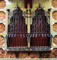 Casa Vicens / Wrought Iron / Veranda