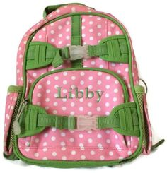 Schools Starting Justice Quilted Backpack Letter