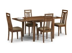 Julian Bowen Hamilton Dining Table with 4 Chair