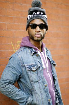 DapperLou.com   Men's Fashion & Style Blog   Street Style   Online Shopping : Street Gents   The Ball Beanie Hat