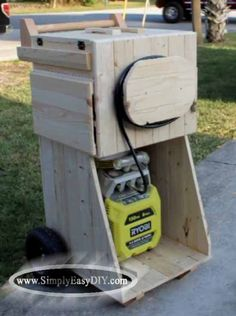 My nail guns have been going from the top of the freezer, to the floor, to the top of the worm bin for some time now. In fact, they...