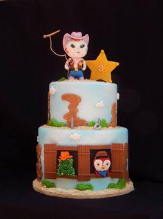 Sheriff Callie cake 6/8