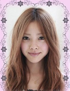 The latest sweet face-lift in long hair Tokyo's most popular hairstyle