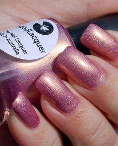 Lilypad Lacquer Rose Gold