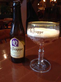 La Trappe quadrupel Beers Of The World, Beer Bottle, Drinks, Beer, Drinking, Beverages, Drink, Beverage, Cocktails