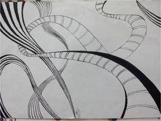 movement through lines